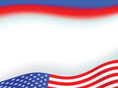 American flag background — Foto Stock