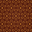 Stock Photo: Seamless Damask wallpaper
