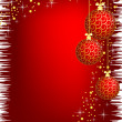 Image of christmas background — Stock Photo