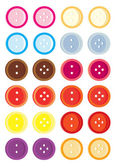 Button variation set — Stock Vector