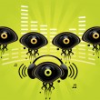 Eye character image 6 - Stock Vector