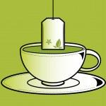 Cup of tea 1 — Stock Vector