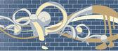 Brick wall graffitti — Stock Vector