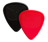 Two ribbed guitar plectrums — Stock Photo