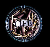 Burnt life — Stock Photo