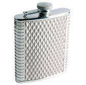 Alcohol Grooved Flask — Stock Photo