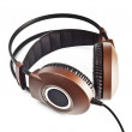 Stereo headphones isolated on white — Stock Photo #1049129
