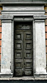 Old terrible door — Stock Photo