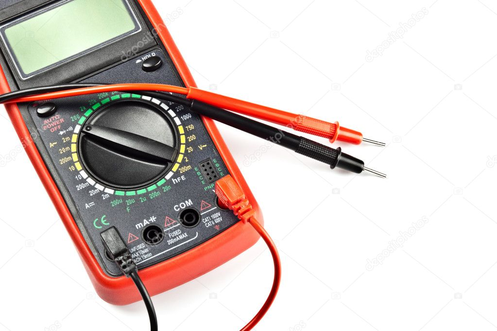Electronic Measuring Devices Measure : Electronic measuring device — stock photo mr brightside