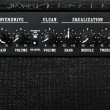 Guitar amplifier control panel — Stockfoto #1443413