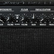 Stock Photo: Guitar amplifier control panel