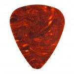 Brown guitar plectrum — Stock Photo #1600706