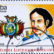 Royalty-Free Stock Photo: Postage stamp shows M. A. Padilla