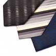Necktie set — Stock Photo
