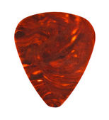 Brown guitar plectrum — Foto de Stock