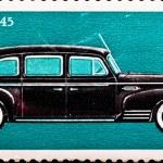 Postage stamp shows vintage car ZIS-110 — Stock Photo #1632750