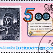 Celebrate 500 years Latin America — Stock Photo
