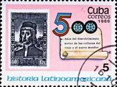 Comemorar os 500 anos da América Latina — Fotografia Stock