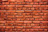 Red brick wall high resolution texture — Stock Photo