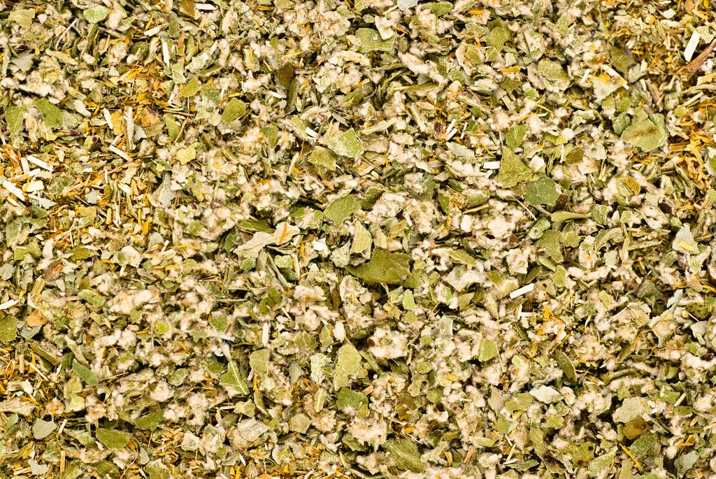 Dried herbs mixture closeup texture background — Stock Photo #2659210