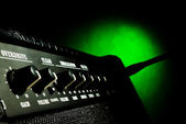 Combo amplificador closeup — Foto Stock