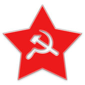 Soviet star — Stock Photo