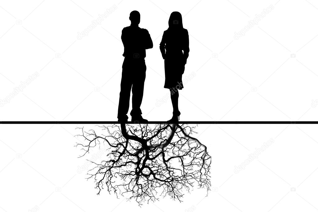 Relations between the man and the woman with deep sense — Stock Photo #1132911