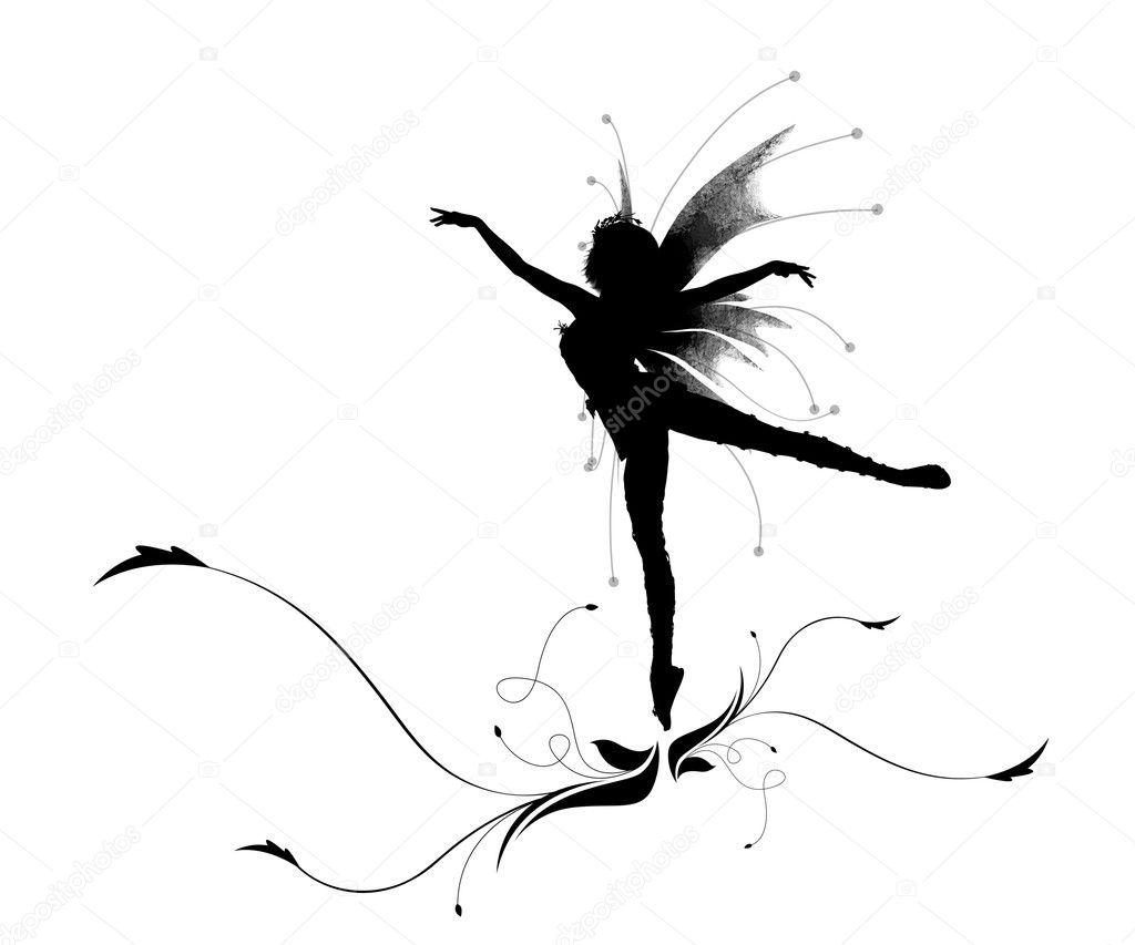 Dancing elf — Stock Photo © Lomachevsky #2029370