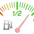 Fuel gauge — Stock Photo #2073123