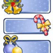Royalty-Free Stock Vektorfiler: Christmas banners