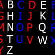 English alphabet — Stock Photo #1194404