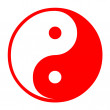 Chinese Tao symbol — Stock Photo