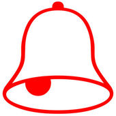 Red bell — Stock Photo