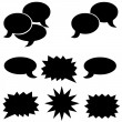Dialog bubbles — Stock Photo