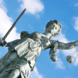 Lady Justice, Frankfurt - Stock Photo