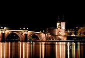 Heidelberg bridge — Stock Photo