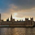 London skyline — Stock Photo