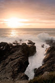 Sunset in Newquay — Stock Photo