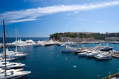 Monaco Marina — Stock Photo