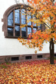 German building in Autumn — Stock Photo