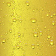 Seamless beer drop texture — Stock vektor
