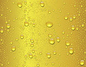 Seamless beer drop texture — Vector de stock