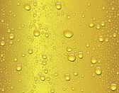 Seamless beer drop texture — Stock Vector