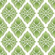Green seamless pattern - Stockvectorbeeld