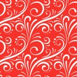 Red seamless pattern — Vektorgrafik