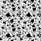 Seamless Classicism Wallpaper — Stock Vector