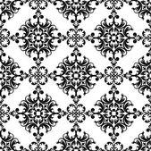 シームレスな古典的な壁紙 — ストックベクタ