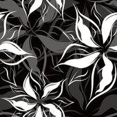 Motif floral sans soudure — Vecteur