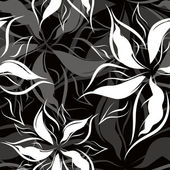 Seamless floral pattern — Stockvektor