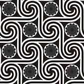 エジプトのシームレスなパターン — ストックベクタ